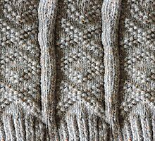 Aran Knitted Panel by DeneWest