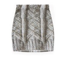Aran Knitted Panel Mini Skirt