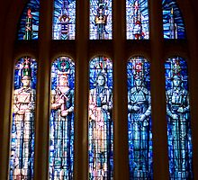 Stained Glass - National War Memorial by parischris