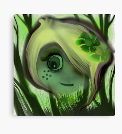 tree ghost Canvas Print