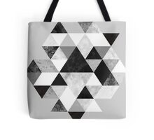 Graphic 202 Black and White Tote Bag