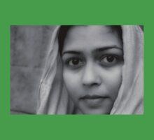 Girl in veil Baby Tee
