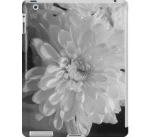 White Bloom (Balck And White) iPad Case/Skin