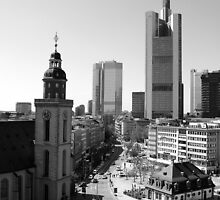 Frankfurt am Main  by Martina Fagan