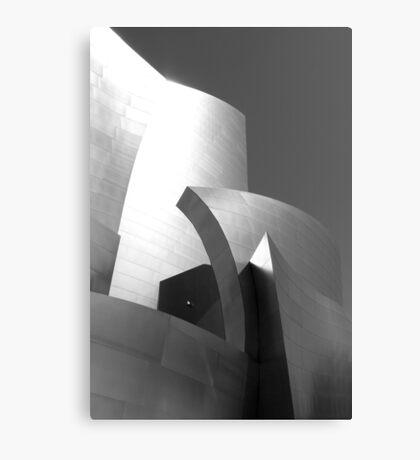 Frank Gehry's Walt Disney Concert Hall, LA Canvas Print