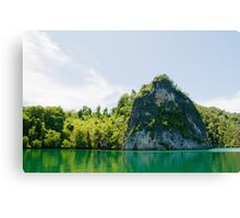Green & Tranquil Canvas Print