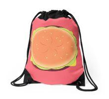 Cheeseburger Backpack Drawstring Bag