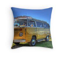 VW Combi Throw Pillow