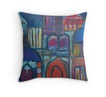 Shades of Morocco Throw Pillow