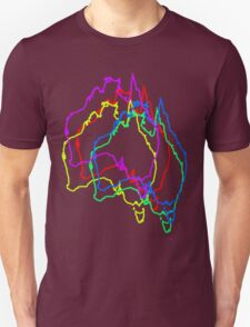 Jittered Australia T-Shirt