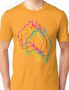 Jittered Australia Unisex T-Shirt