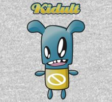 Kidult characters turquoise no guy t-shirt by Kidult