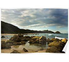 Shelly Beach, Port MacQuarie Poster