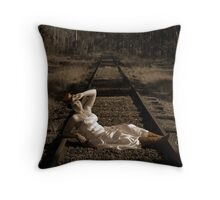 Looking for Love... If I play a damsel in distress, will you rescue me? Throw Pillow