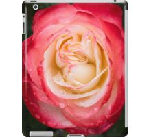 Rose and Rain - Pinks and Creams and Whites iPad Case/Skin