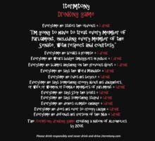 1Term Tony/ Drinking Game/ Black Tshirts by 1termtony