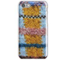 Rough Knitting Pattern iPhone Case/Skin