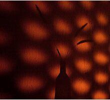 Shadow Texture Photographic Print