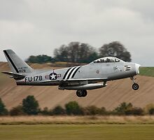 F86 Sabre Take Off by PhilEAF92