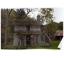Historic farmhouse Poster