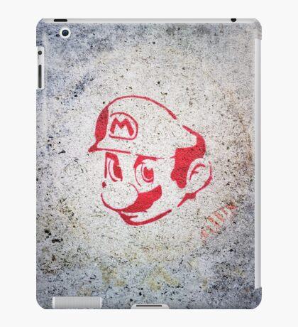 Super Mario Bros Urban Hip Hop Wall Tag iPad Case/Skin