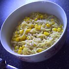 Sweetcorn And Coconut Noodles by Terri-Leigh Stockdale