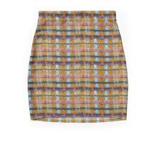 Cartoon Knitted Patchwork Pencil Skirt