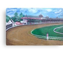 Saratoga Race Track In August Metal Print