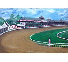 Saratoga Race Track In August Photographic Print