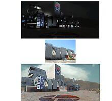 S.H.E.I.L.D. Desert Headquarters by cjjuzang