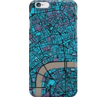 London city map twilight iPhone Case/Skin