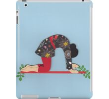 Mardjariasana - CAT yoga posture iPad Case/Skin