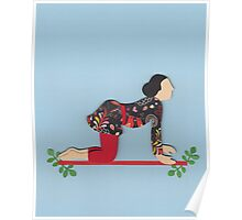 Shvanasana - DOG yoga posture Poster