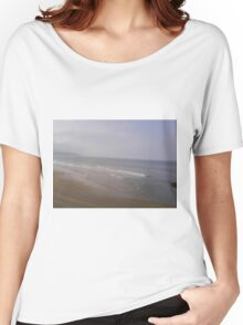 Whitby Sky, Sea And Sand Women's Relaxed Fit T-Shirt