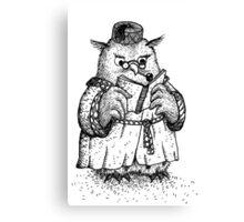 Owl - Boy Canvas Print
