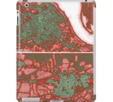 Four andalusian cities map iPad Case/Skin