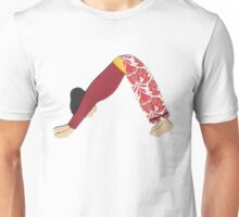 Adho Mukha Svanasana - DOWNWARD-FACING DOG yoga posture Unisex T-Shirt