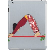 Adho Mukha Svanasana - DOWNWARD-FACING DOG yoga posture iPad Case/Skin