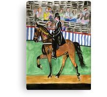 Tennessee Walking Horse Portrait Canvas Print