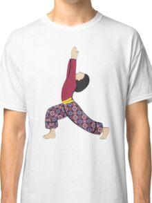 Ardha Virabhadrasana - HALF WARRIOR yoga posture Classic T-Shirt