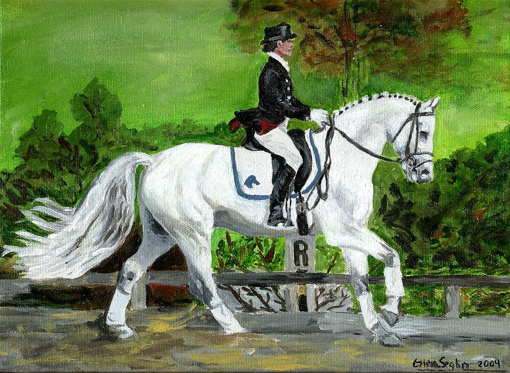 Dressage Horse I Portrait by Oldetimemercan