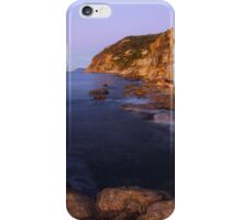 Warm light on Bau Rouge beach iPhone Case/Skin