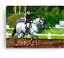 Lusitano Dressage Horse Portrait Canvas Print
