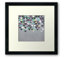 Nordic Combination 7 Framed Print
