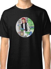 Folk art -  Flower garden Classic T-Shirt