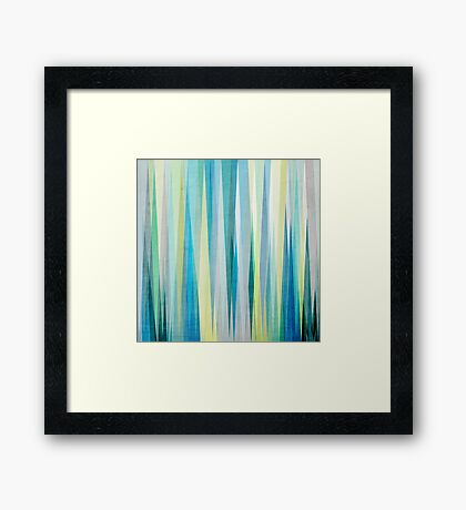 Nordic Combination 6 Framed Print