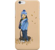 Welcome autumn iPhone Case/Skin