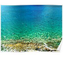 Rainbow Sea Poster