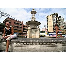 the fountain of youth Photographic Print