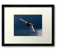 The Delta Lady - Vulcan XH558 Framed Print
